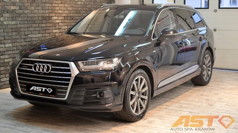 Audi Q7 - efekty naszej pracy - Realizacja Auto SPA Tarnów