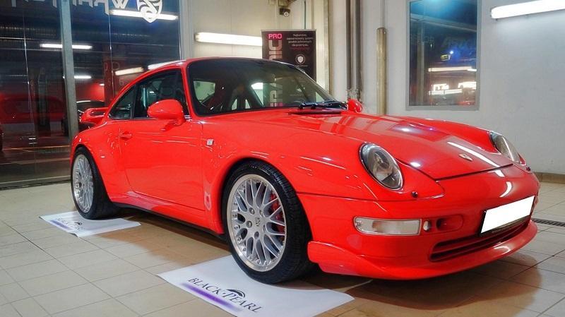 Porsche 911 RS - efekty naszej pracy - Realizacja Auto SPA Tarnów